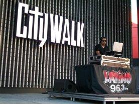 DJ at City Walk Hollywood, CA